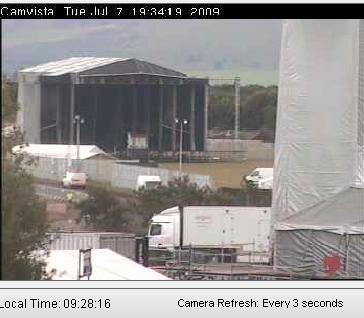 Live webcam coverage at T in the PARK 2009